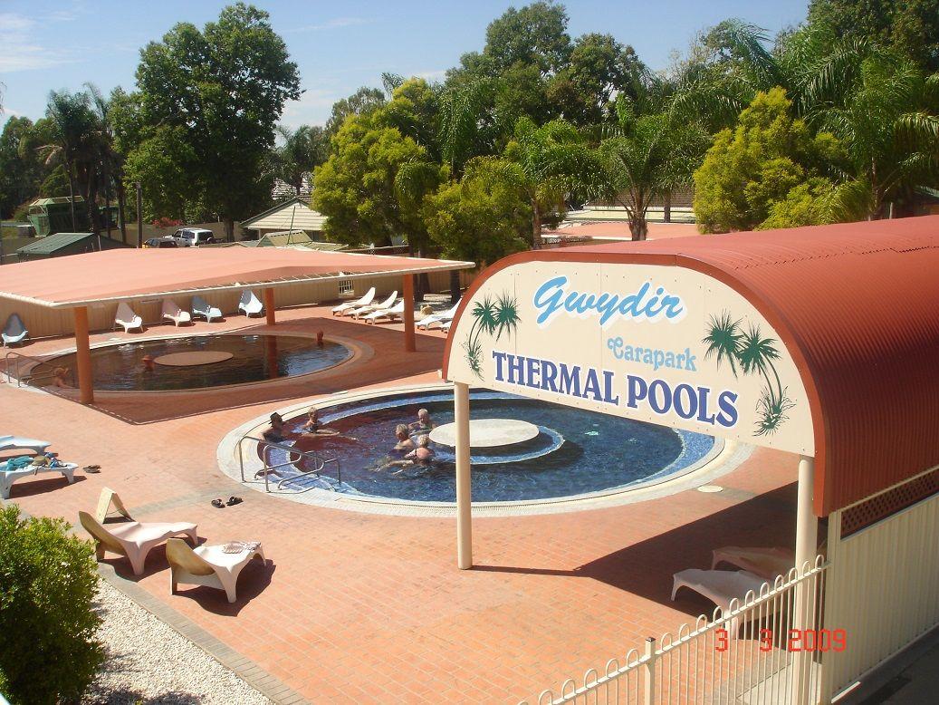 hot springs resort accommodation moree